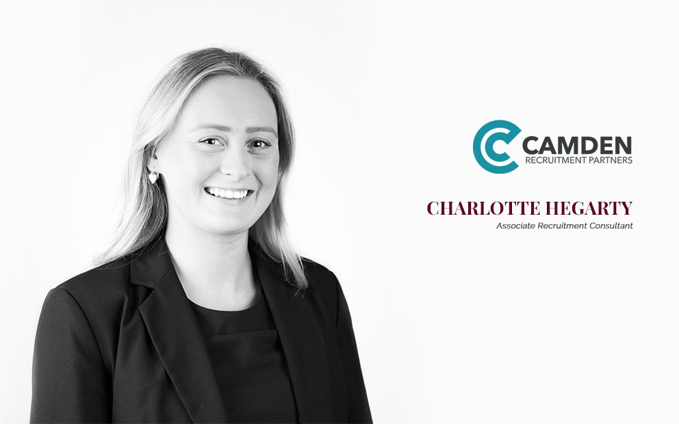 Camden Welcomes Charlotte Hegarty