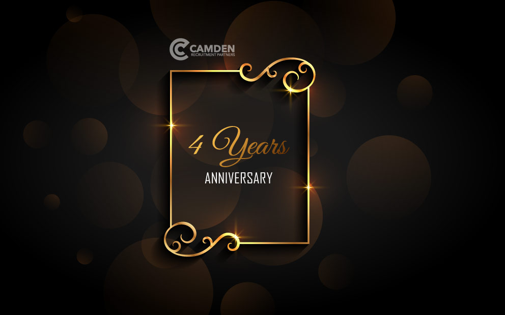 Camden Celebrating 4 Years in Business